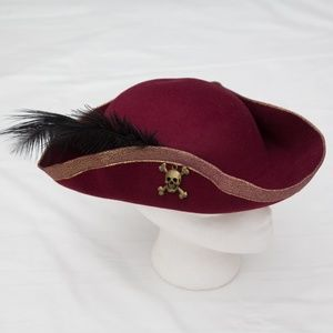 disney pirates of the caribbean hat costume